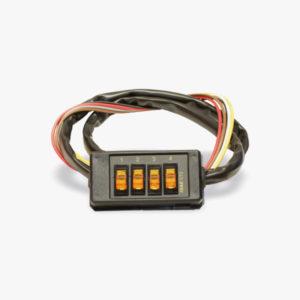 Botonera para el control de funciones del vehículo CT2